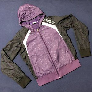 USED: Adidas light wind jacket for girls in size M/10 years